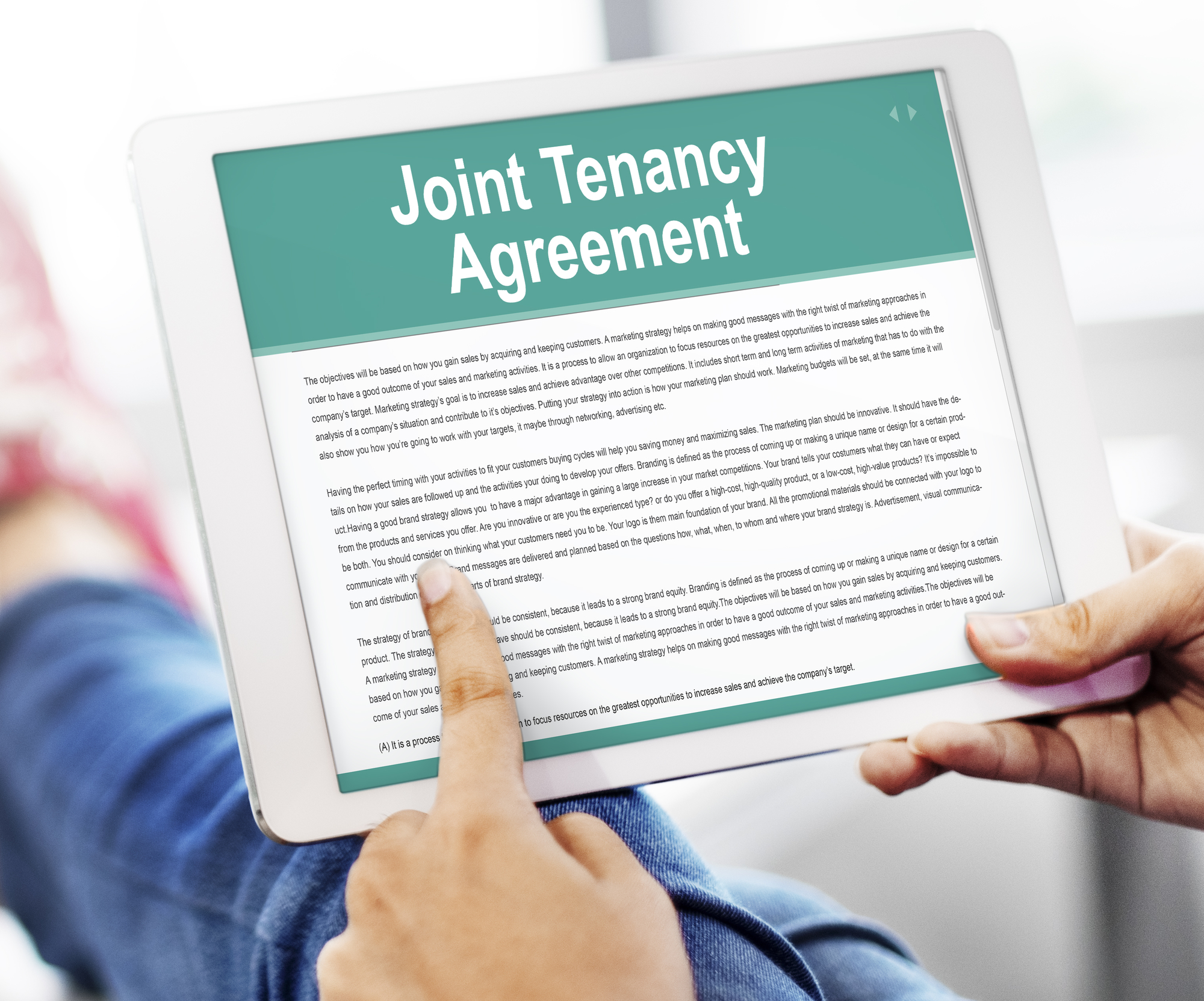 Joint Tenancy and Headaches