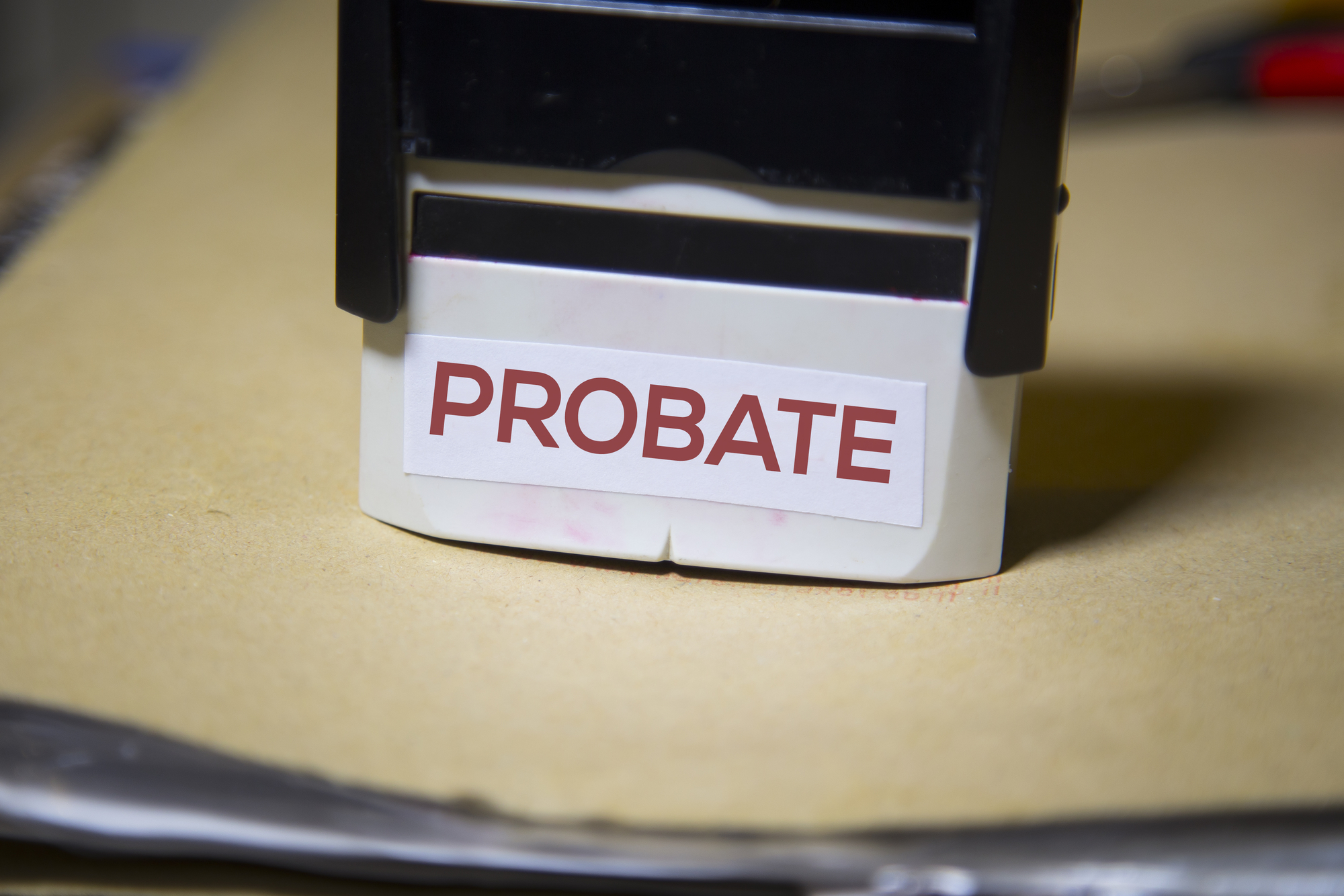 Working through California Probate